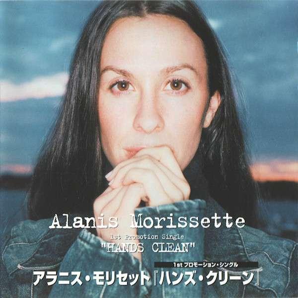 single promocional japonês: Alanis Morissette - Hands Clean (Canadá, 2002)